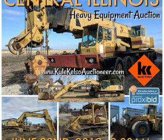 Illinois Heavy Equipment Auction