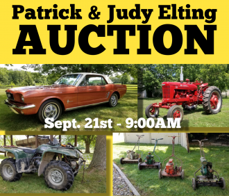 Patrick & Judy Elting Moving Auction