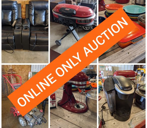 Multi Party Online Only Auction