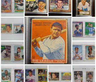 Baseball & Sports Memorabilia Online Only Auction