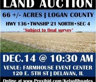Logan Co Land Auction 66+/- Acres