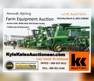 Spring 2021 Machinery Consignment LIVE Auction